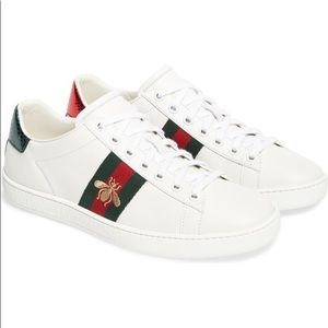 """Woman's Gucci """"Ace"""" Sneakers"""